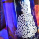 buddha blue bottle